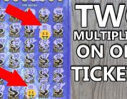 BIG WIN! TWO MULTIPLIERS FOUND!!..$30 «MEGA CASH» LOTTERY TICKET SCRATCH OFF!!