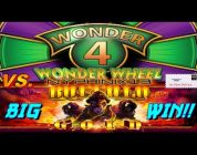 Wonder 4 Wonder Wheel vs. Buffalo Gold Slot Bonus BIG WIN!!