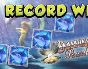 RECORD WIN 4€ bet BIG WIN — Dolphins Pearl HUGE WIN