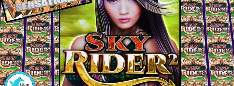 Sky Rider 2 Slot Machine — Awesome Run — Big Win!