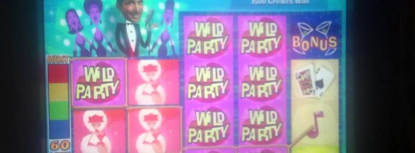 DEAN MARTIN SLOT MACHINE BIG WIN BONUS