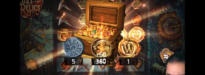 NEW SLOT Lost Relics ROSHTEIN EPIC BIG WIN OVER 8000EUR NetEnt
