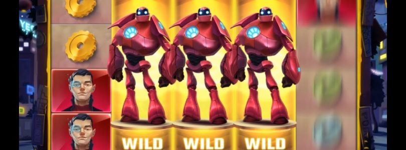 Big Bot Crew Slot — 8 Free Spins Big Win!