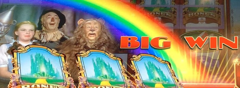 BIG WIN w/ SURPRISE Ending — Ruby Slippers 2 Slot Machine Bonus Yellow Brick Road