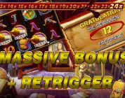 HUGE MEGA BIG WIN ON DA VINCI'S TREASURE SLOT — PROGRESSIVE FREE SPINS BONUS WITH RETRIGGER