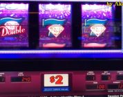 BIG WIN LIVE★Part 3/5. Cosmopolitan LasVegas, Double Gold $2 Slot & Pink Diamond Slot, Akafujislot