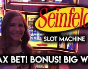Seinfeld Slot Machine! BIG WIN BONUS!