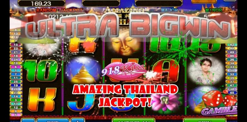 918Kiss Jackpot! Amazing Thailand Jackpot! Ultra Big Win Jackpot!