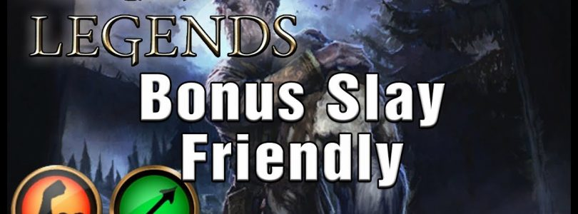 Big Win Plus Slay Scout Friendly — Rage Archer — Houses of Morrowind- The Elder Scrolls Legends