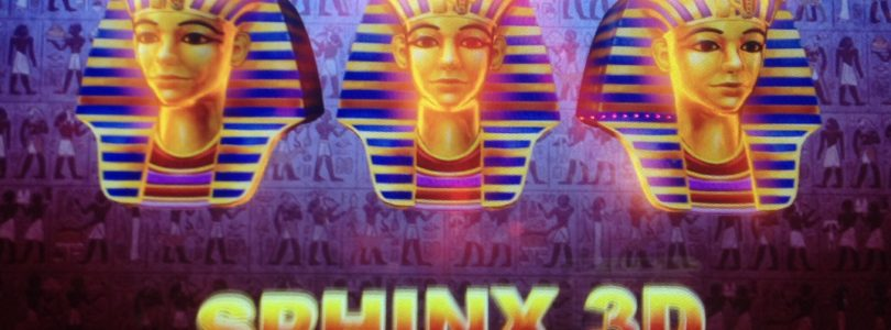 SPHINX 3D slot machine RAMOSIS FREE GAMES Bonus BIG WIN