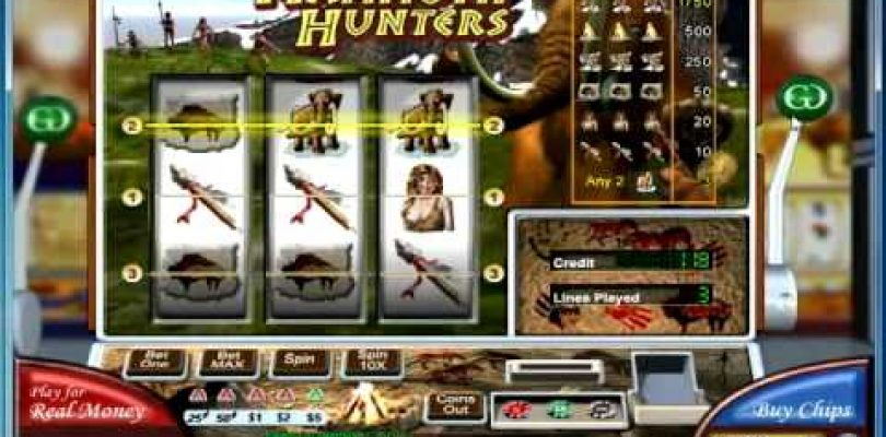 Online Classic Sloth  Mammoth Hunters Game