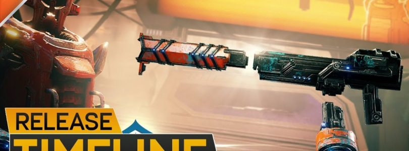 Warframe: Fortuna & Railjack Timeline, Login Rewards & Corpus Glaive — Dev 117