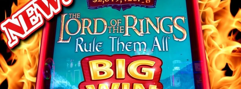 ★LORD OF THE RINGS! BIG WIN★ NEW SLOT★FREE GAMES BONUSES ★EYE OF SAURON AND FRODO!!