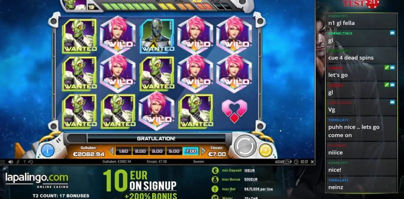BIG WIN ON THE NEW IRON GIRL SLOT (PLAY'N GO) — 7€ BET!
