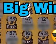 $30 QUICK VIDEO TURNS INTO A BIG WIN! LOTTERY TICKETS!
