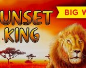 LUCKY PICK! Sunset King Slot — BIG WIN RETRIGGER!