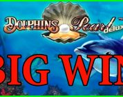 Dolphin's Pearl Deluxe slot (30 Free Spins) BIG WIN !!