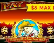 HUGE WIN! Pay Dirt Slot — $8 Bet — AWESOME BONUS, ALL FEATURES!