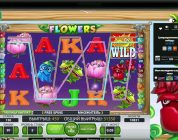 NetEnt's Flowers slot — big $7.5 bet bonus with retrigger BIG WIN