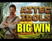 BIG WIN 3 euro bet  — Aztec Idols HUGE WIN online casino