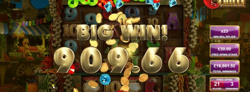 Extra Chilli Big Win  £1500 Buy a Bonus (Part 2)