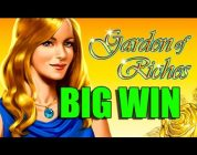 Online Casino 15 euro bet BIG WIN — Garden of riches HUGE WIN