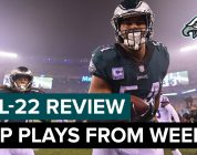 The Top Plays From A Big NFC East Win | Eagles All-22 Review