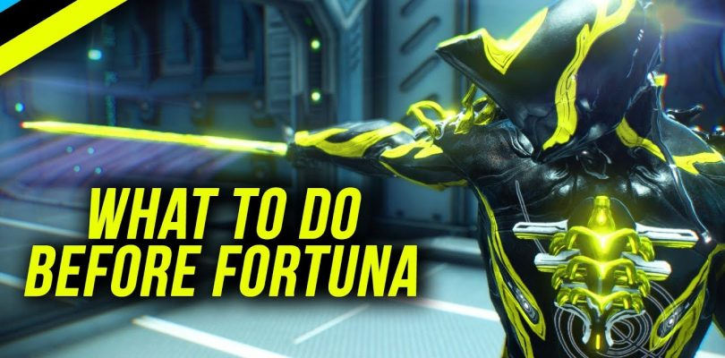 What To Do Before Fortuna | Warframe Beginner's Guide 2018 Part 2