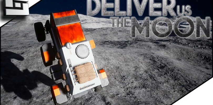 JUMPING the MOON ROVER!  Deliver Us The Moon: Fortuna E4