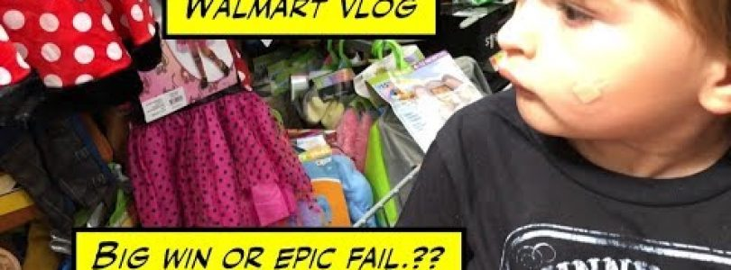 duhop Big win or epic fail? Halloween costume search continues Walmart vlog