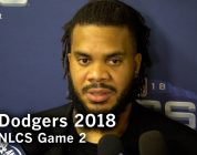 Dodgers NLCS Game 2: Kenley Jansen on the big win in NLCS Game 2
