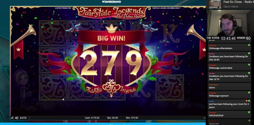 Mr.Casino — BIG WIN Fairytale Legends (Red Riding Hood) Low Volatile slot.
