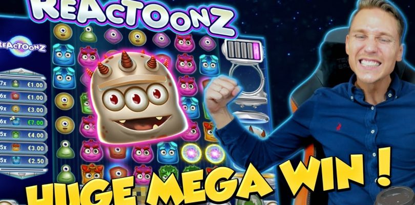 BIG WIN!!! Reactoonz Huge Win — Casino Games — free spins (Online Casino)