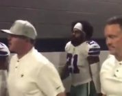 Watch Dak Prescott, Ezekiel Elliott & Cowboys players celebrate big win over Jaguars