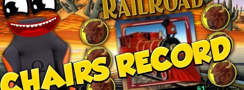 Chairs BIG WIN!!! Railroad — Huge Win — Casino Games — free spins (Online Casino)