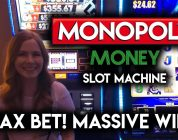 MONSTER WIN! My Biggest win on Monopoly Slot Machines EVER!