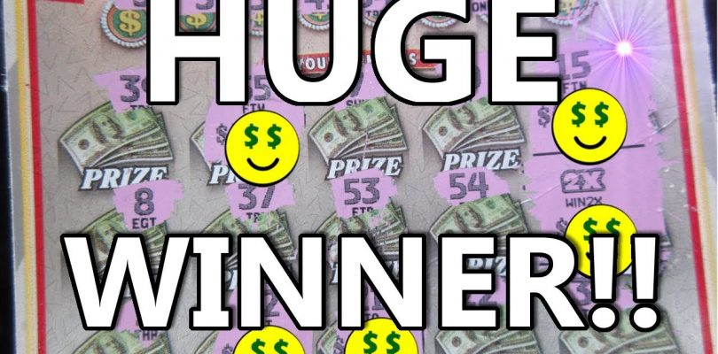 HUGE WINNER!! BIGGEST SCRATCH-OFF LOTTERY TICKET WIN I'VE EVER GOT!!