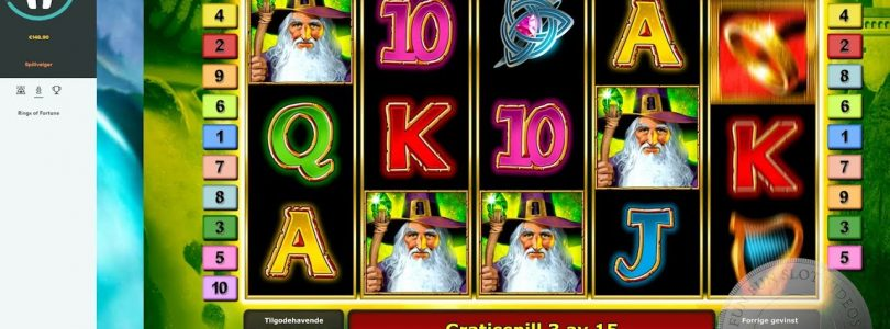 Rings Of Fortune — Big Win, €1 bet on Casumo
