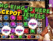 BIG WIN!!!!! Jackpot jewels bonus round from LIVE STREAM (Casino Games)