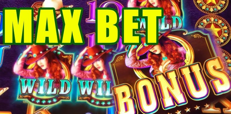 MAX BET BONUS — GOLDSLINGER — PROWLING PANTHER BIG WIN! — CASINO PLAY