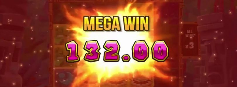 BIG WIN on Tiki Tuble Slot Machine — Short but decent bonus — HUGE WIN