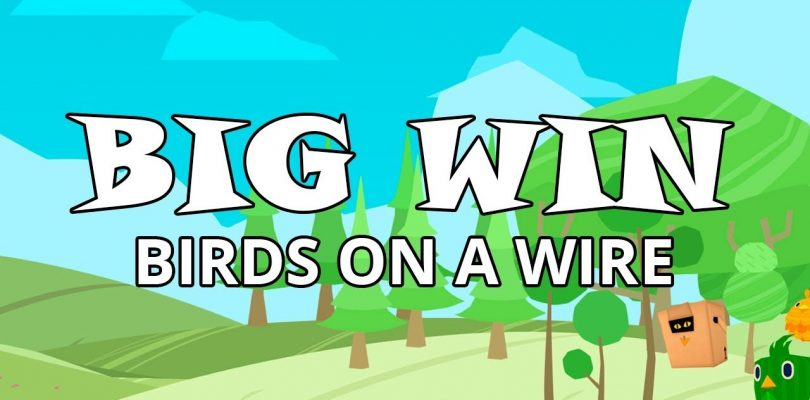 BIG WIN ON BIRDS ON A WIRE