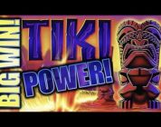 ★BIG WIN! TIKI TORCH (NICKELS/QUARTERS)★ LUV ME SOME TIKI! Slot Machine Bonus (Aristocrat)