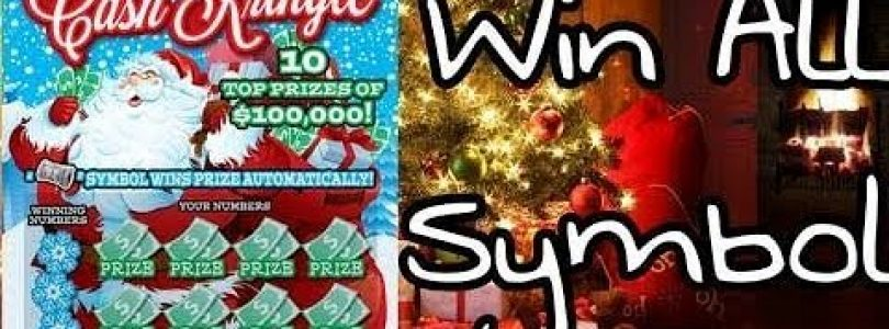 Big Win! (Win All) New Christmas Lottery Tickets! New $3s & $5s
