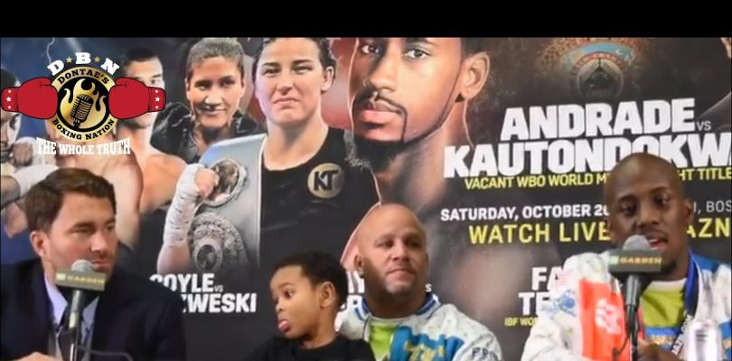 TEVIN FAMER & EDDIE HEARN REACTION TO BIG WIN BY TEVIN