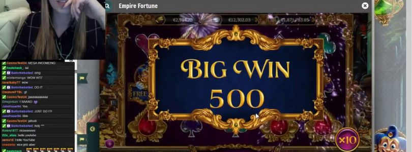 MEGA BIG WIN ON EMPIRE FORTUNE !! OVER 500x 2017