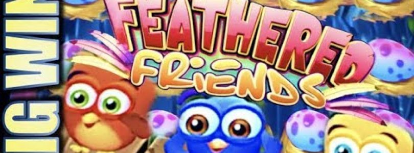 ★BIG WIN! EGGS! EGGS! EGGS!★ FEATHERED FRIENDS (SG) Slot Machine Bonus