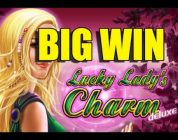 Online casino 2 euro BIG WIN — Lucky Ladys Charm HUGE WIN epic reactions