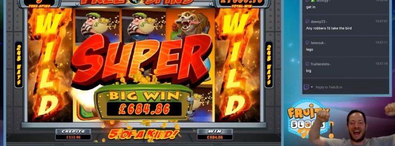 SUPER BIG WIN Bust The Bank!! — Free Spins ( Online Slots )