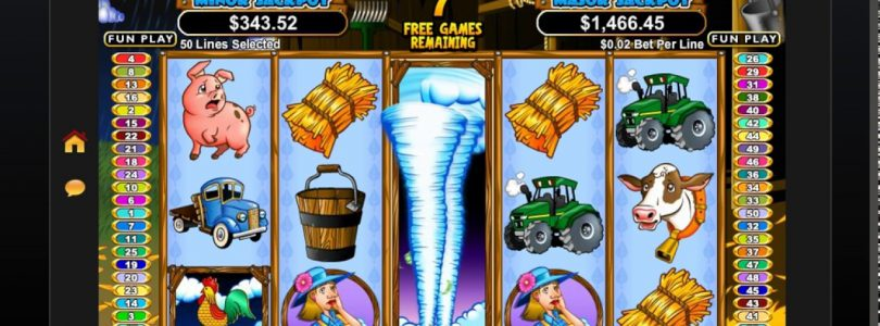 BIG WIN on Triple Twister — Facebooks Free Casino Comps Games